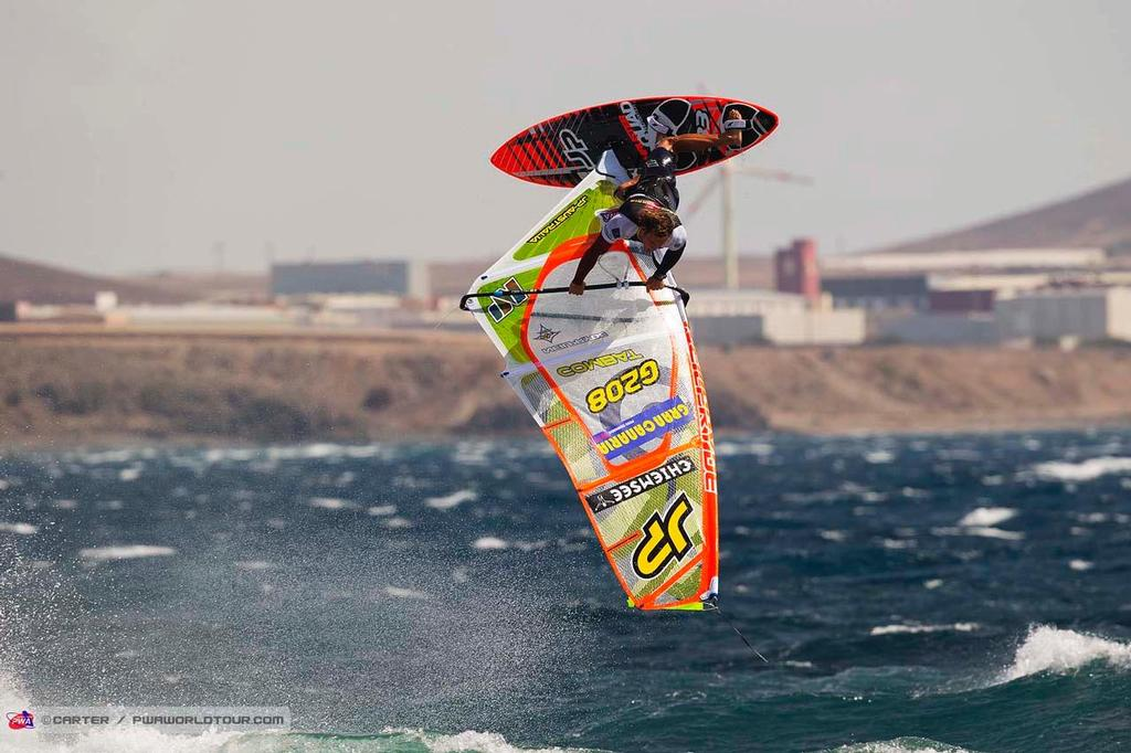 Leon Jaemer - 2014 PWA Pozo World Cup / Gran Canaria Wind and Waves Festival photo copyright  Carter/pwaworldtour.com http://www.pwaworldtour.com/ taken at  and featuring the  class