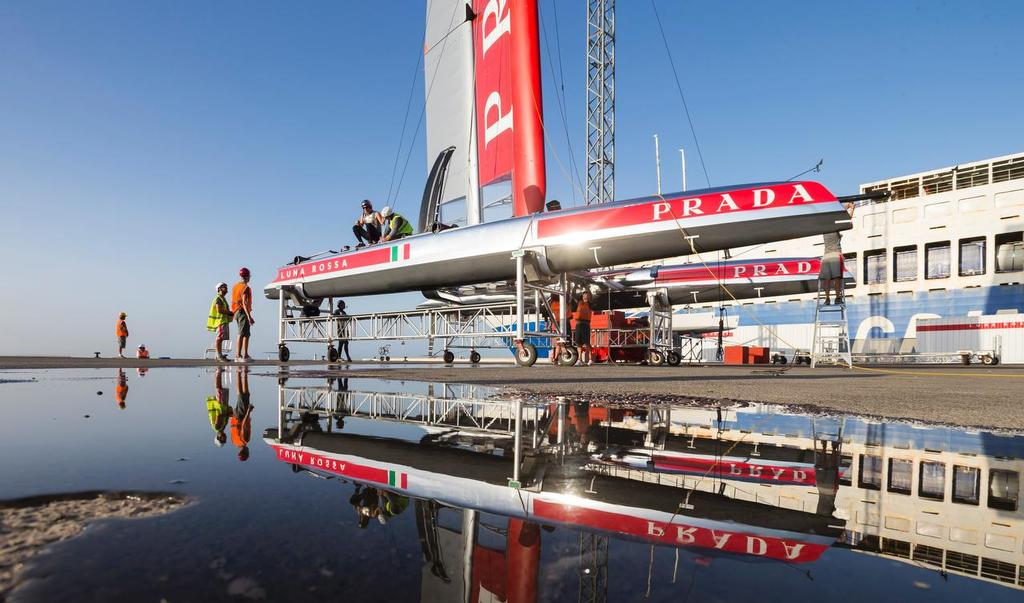 The AC45 is the only boat that will span the 34th and 35th America's Cup regattas © Carlo Borlenghi/Luna Rossa http://www.lunarossachallenge.com