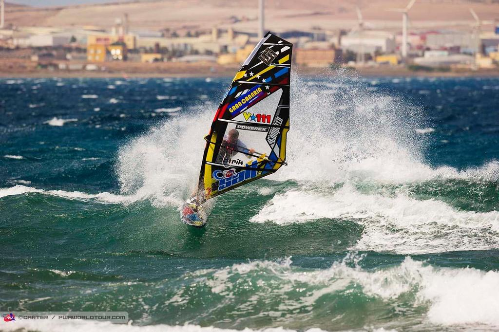 Ricardo campello - 2014 PWA Pozo World Cup / Gran Canaria Wind and Waves Festival photo copyright  Carter/pwaworldtour.com http://www.pwaworldtour.com/ taken at  and featuring the  class