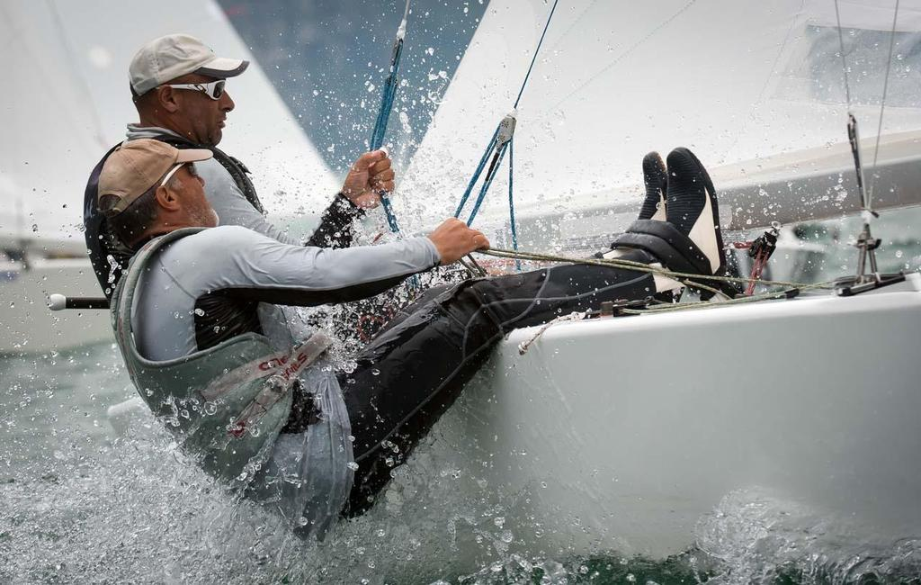 2014 Star World Championship - Diego Negri and Segio Lambertenghi ©  Marc Rouiller / Star Sailors League