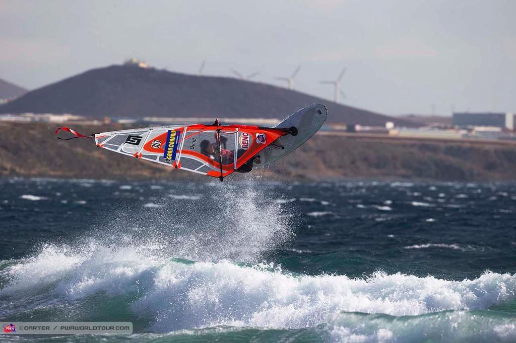 Steffi Wahl - 2014 PWA Pozo World Cup / Gran Canaria Wind and Waves Festival ©  Carter/pwaworldtour.com http://www.pwaworldtour.com/