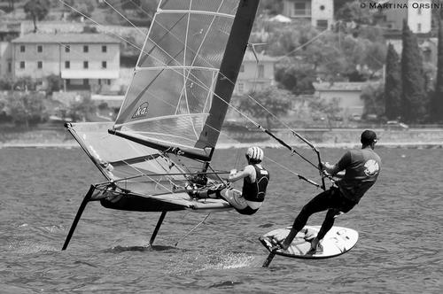 Moth v Board mo - Foiling Week 2014 ©  Martina Orsini