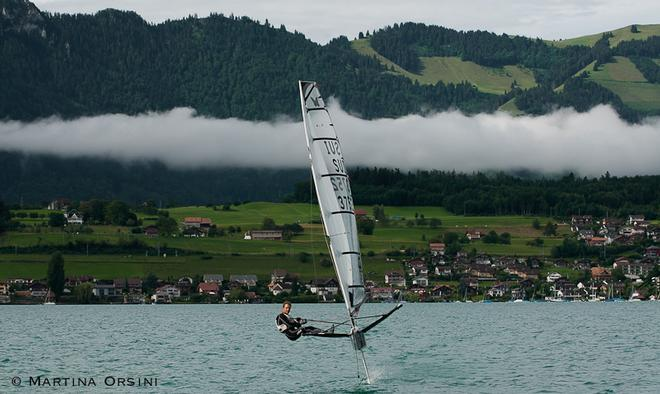 EFG Moth Euro Cup Act four - Switzerland ©  Martina Orsini