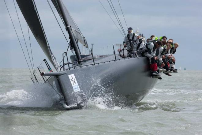 Varuna finished the Sevenstar Round Britain and Ireland Race in first place overall. © Hamo Thornycroft http://www.yacht-photos.co.uk