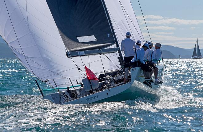 Robin Crawford's Assassin heads for Whitsunday Passage. © Crosbie Lorimer http://www.crosbielorimer.com