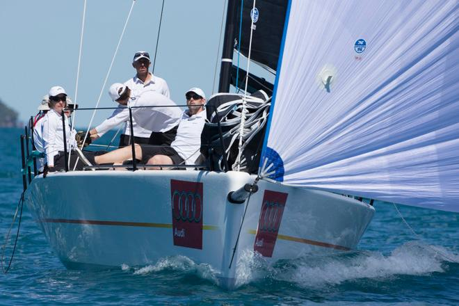 Assassin gets some pace on - MC38 Australian Championship - Audi Hamilton Island Race Week 2014 © Andrea Francolini http://www.afrancolini.com/