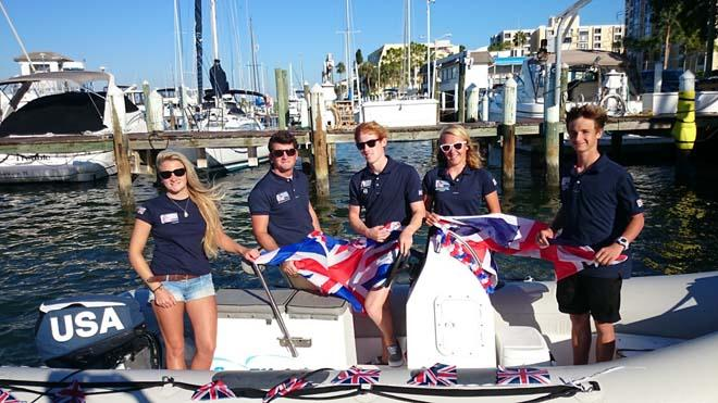 The British Youth Sailing Team at the RS:X Youth Worlds. © RYA http://www.rya.org.uk