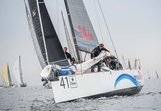 El Pocko also on the edge of the Gold fleet - 2014 ORC World Championship © Pavel Nesvadba/Ranchi
