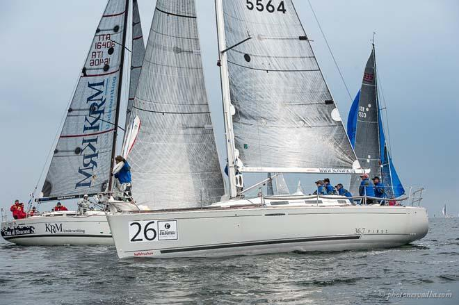 Halbtrocken in Class C traffic - 2014 ORC World Championship © Pavel Nesvadba/Ranchi