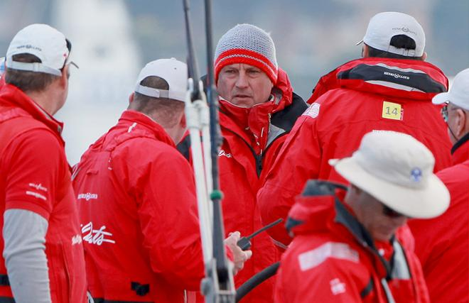 Iain Murray and the Wild Oats XI afterguard © Crosbie Lorimer http://www.crosbielorimer.com