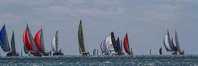 Vision Surveys Airlie Beach Race Week has broken the record number of entries in its 25th anniversary year. © Shirley Wodson