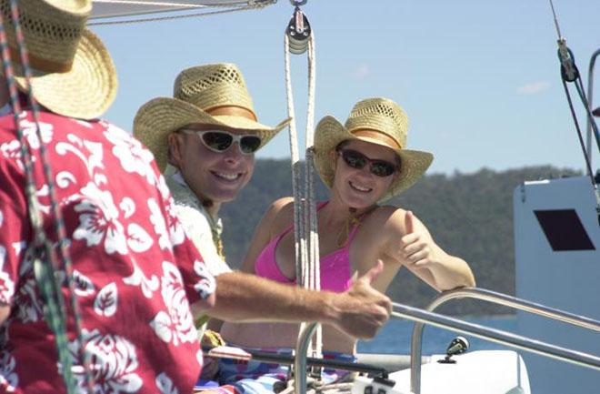 Friendly faces at Fun Race © Airlie Beach Race Week media