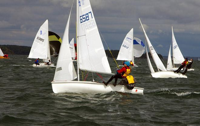 Sail Canada Youth Championships at CORK International - Day 2 © CORK