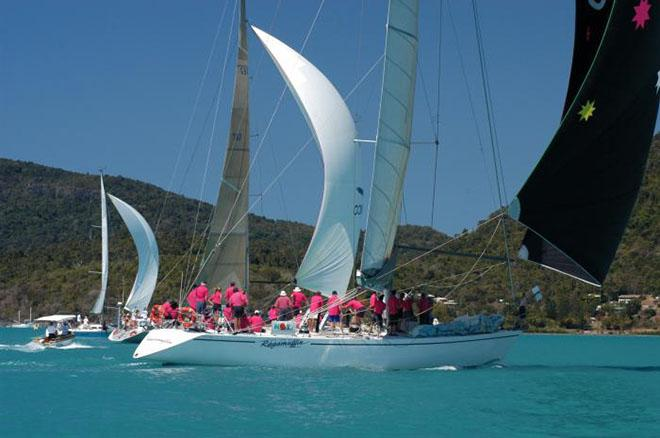 Colour on the water for Fun Race © Airlie Beach Race Week media