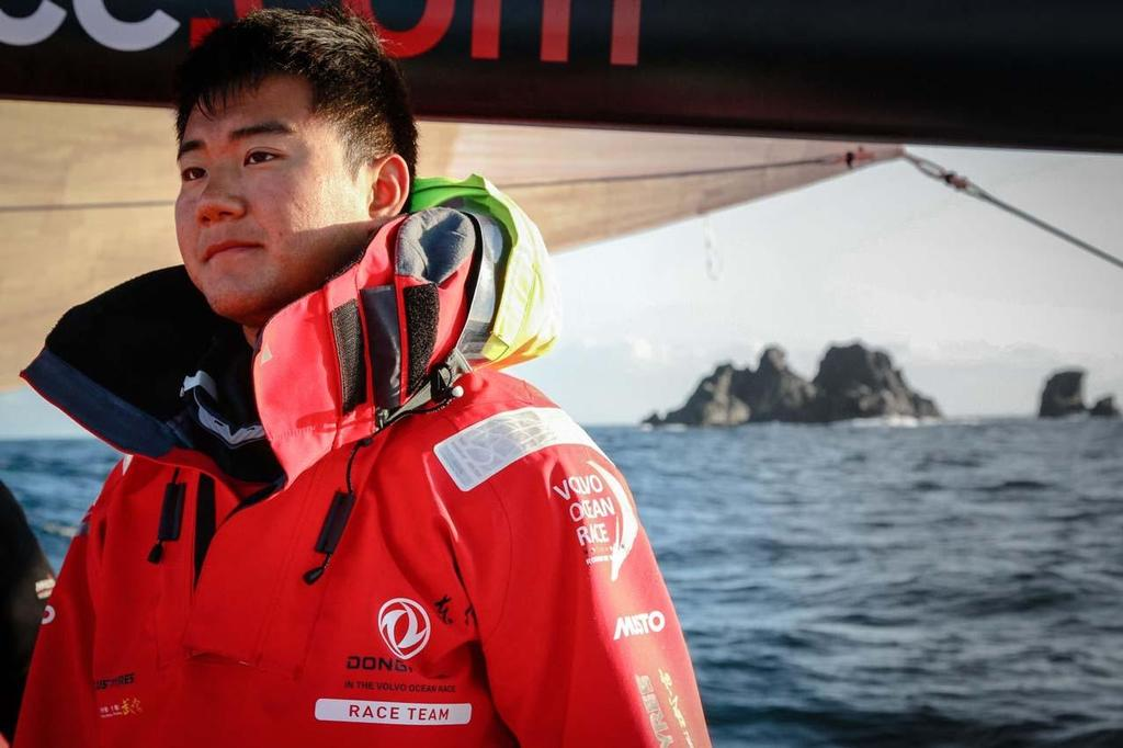 2014 Sevenstar Round Britain and Ireland Race - Onboard Dongfeng © Yann Riou / Dongfeng Race Team