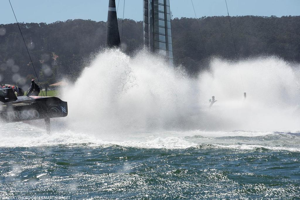 Oracle Team USA - San Francisco (USA,CA) - 34th America's Cup - Final Match - Racing Day 15<br />  &copy; ACEA /Gilles Martin-Raget