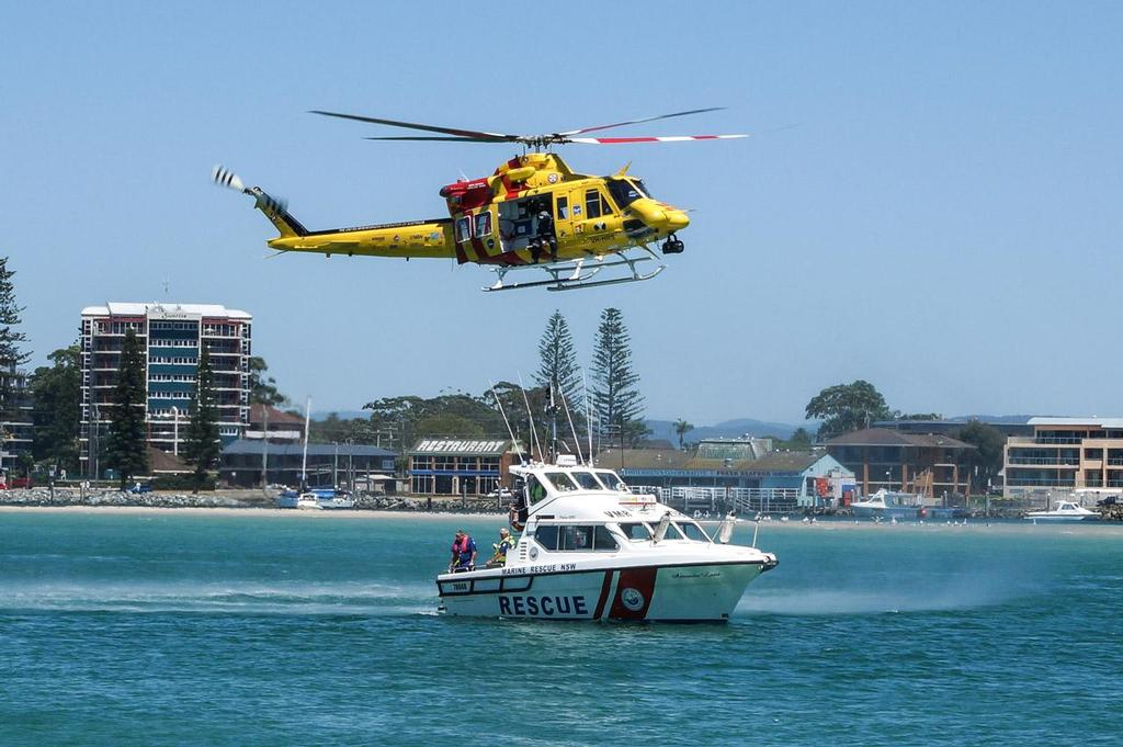 Marine Rescue Forster Tuncurry recognised with Water Safety Week Award