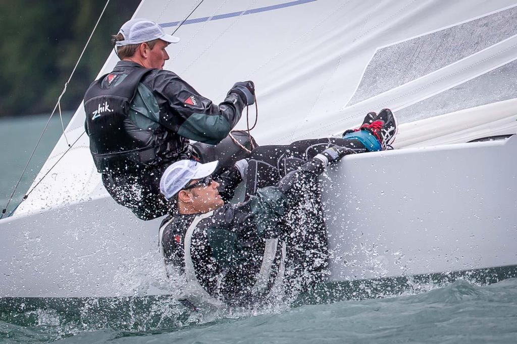 SUI 8274 Burger and Marazzi - 2014 Star Eastern Hemisphere Championship ©  Marc Rouiller / Star Sailors League