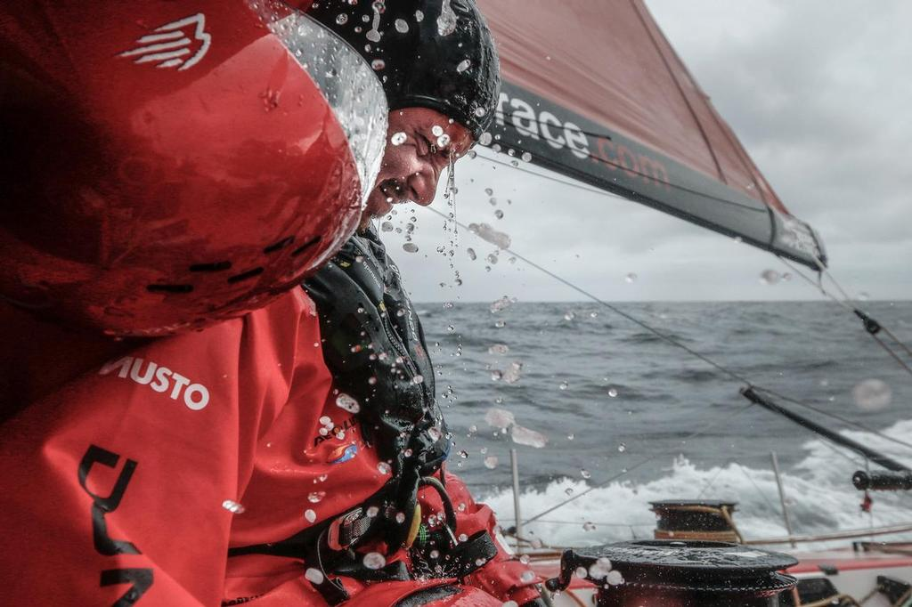 August 13, 2014. Round Britain Island Race Day 3 - OBR content Dongfeng Race  © Yann Riou / Dongfeng Race Team