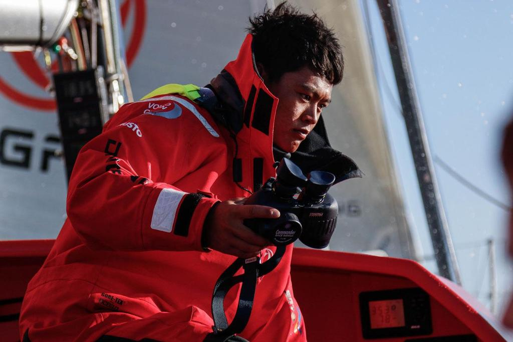 Dongfeng Race Team - 2014 Round Britain and Ireland Race © Yann Riou / Dongfeng Race Team