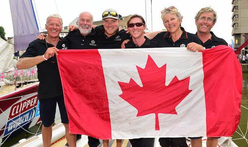 Candian sailors of Henri Lloyd © Clipper 13-14 Round the World Yacht Race
