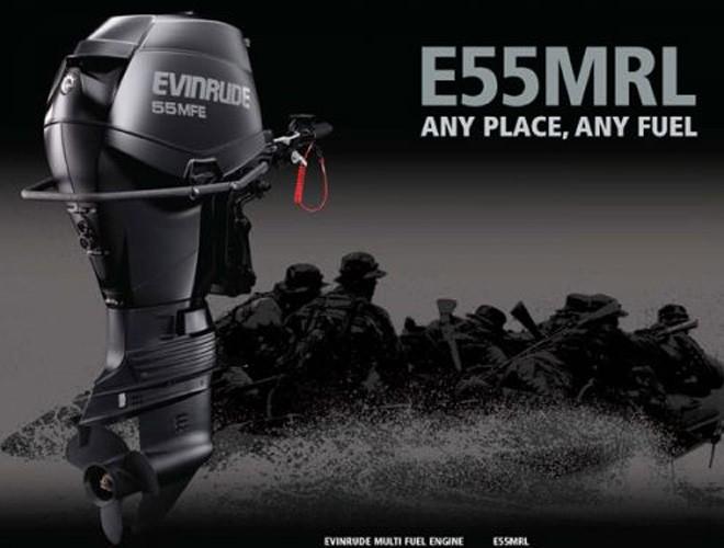 Evinrude Multi Fuel Engine and E-TEC 90