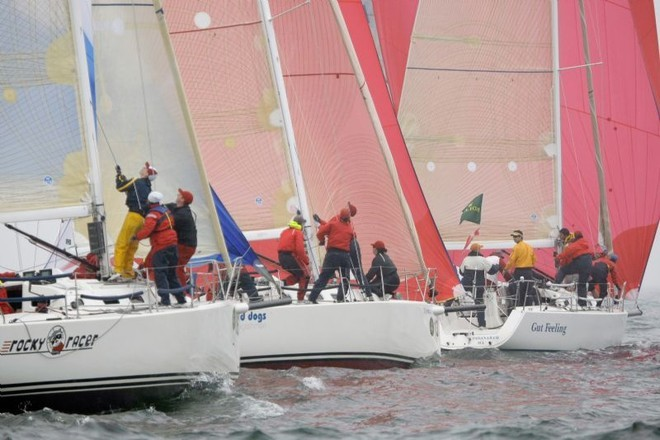 J109 fleet  - Block Island Race Week  © Dan Nerney