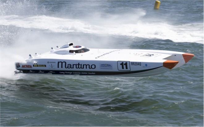 Offshore Powerboats set for Newcastle Harbour