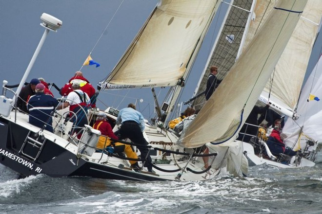 Mark rounding on day two - Block Island Race Week ©  Rolex / Dan Nerney