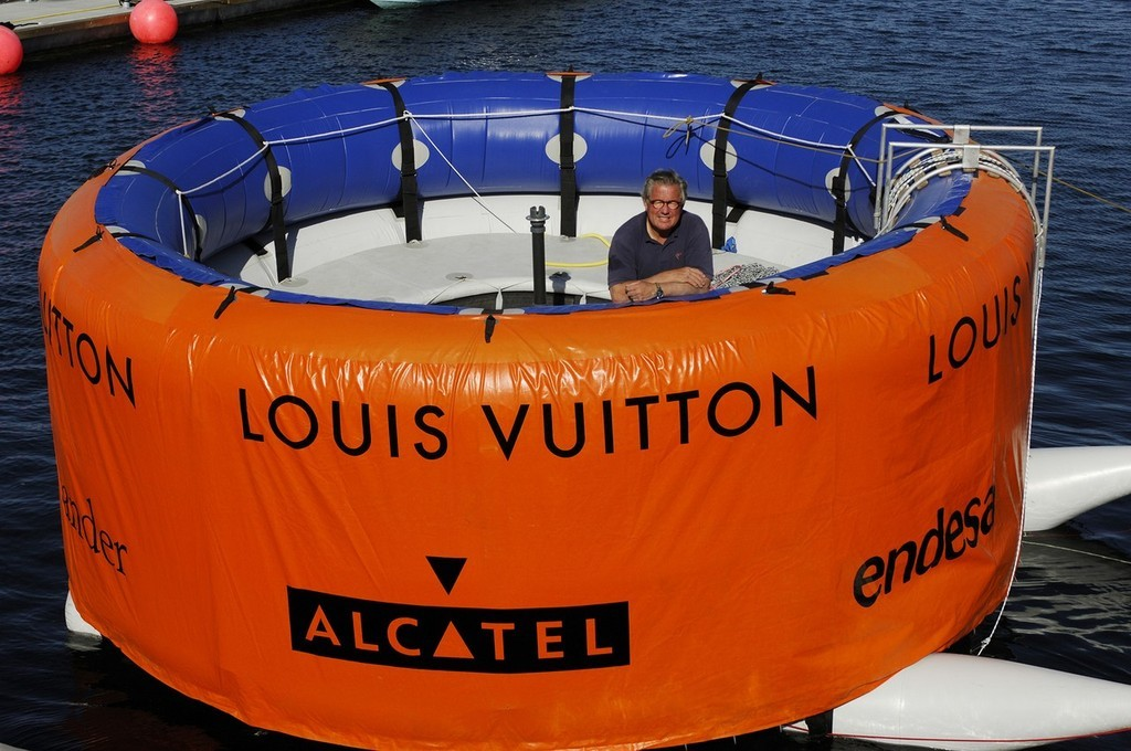 Louis Vuitton Pacific Series organiser, Bruno Trouble in