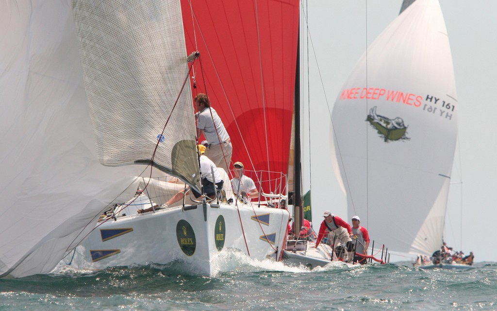 Bottom mark action - Rolex Trophy Rating Series © Crosbie Lorimer http://www.crosbielorimer.com
