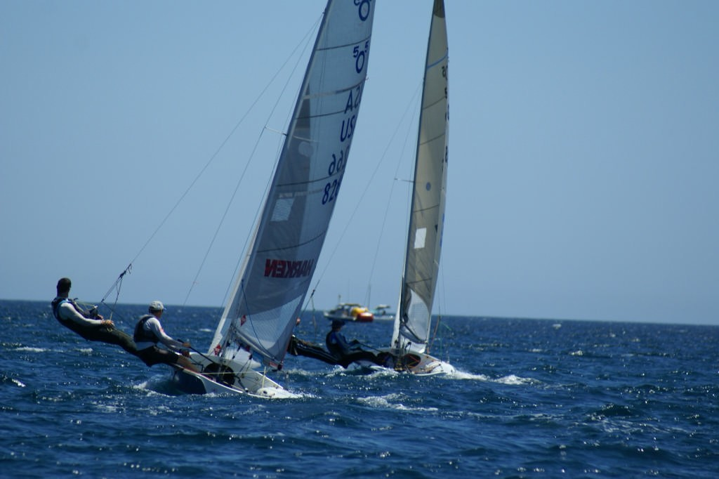 Race 9, 2007 SAP 505 World Championships © Sail-World.com /AUS http://www.sail-world.com