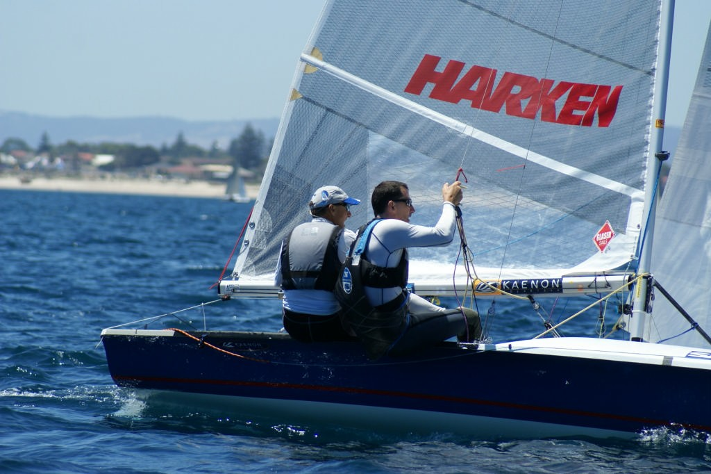 Howie Hamlin and Fritz Lanzinger (USA) 9, 2007 SAP 505 World Championships © Sail-World.com /AUS http://www.sail-world.com