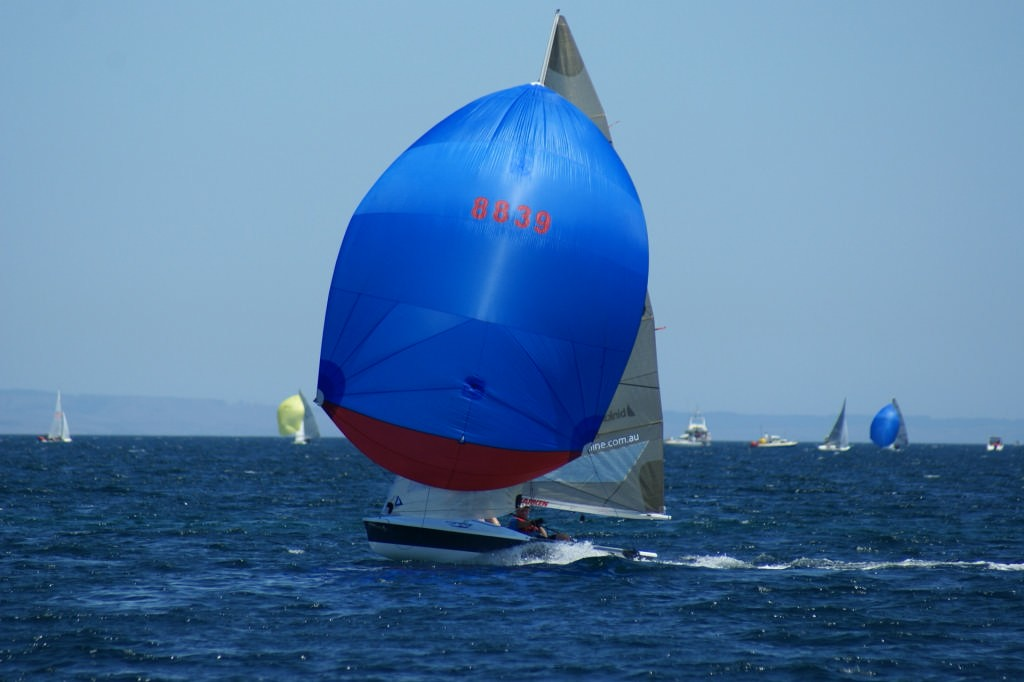Hawaii 50, Race 9, 2007 SAP 505 World Championships © Sail-World.com /AUS http://www.sail-world.com