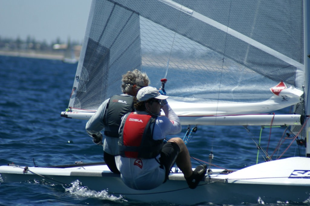 Hasso Plattner and Peter Alarie (GER) Race 9, 2007 SAP 505 World Championships © Sail-World.com /AUS http://www.sail-world.com