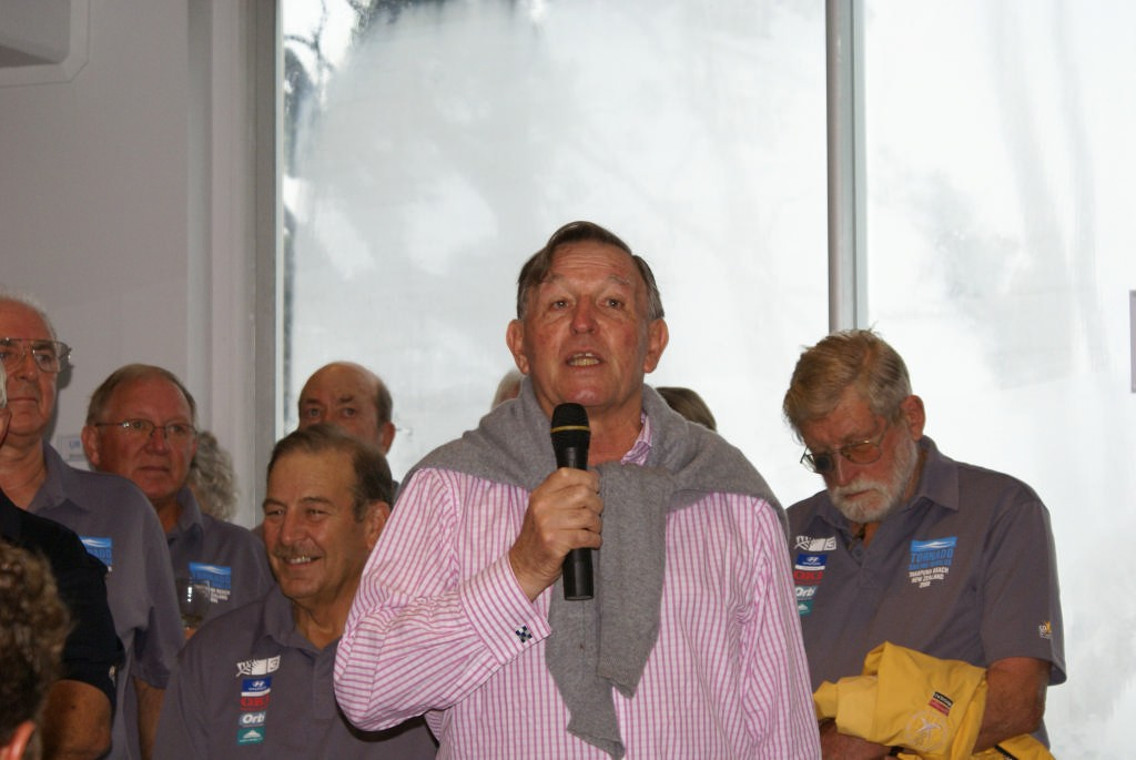 Bob Fisher urges the return of the Multihull event to the 2012 Olympics - photo © Richard Gladwell www.photosport.co.nz