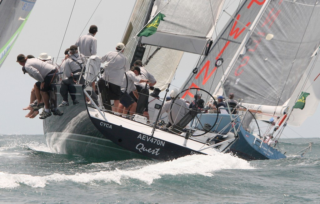 Quest and Knee Deep - Rolex Trophy Rating Series © Crosbie Lorimer http://www.crosbielorimer.com