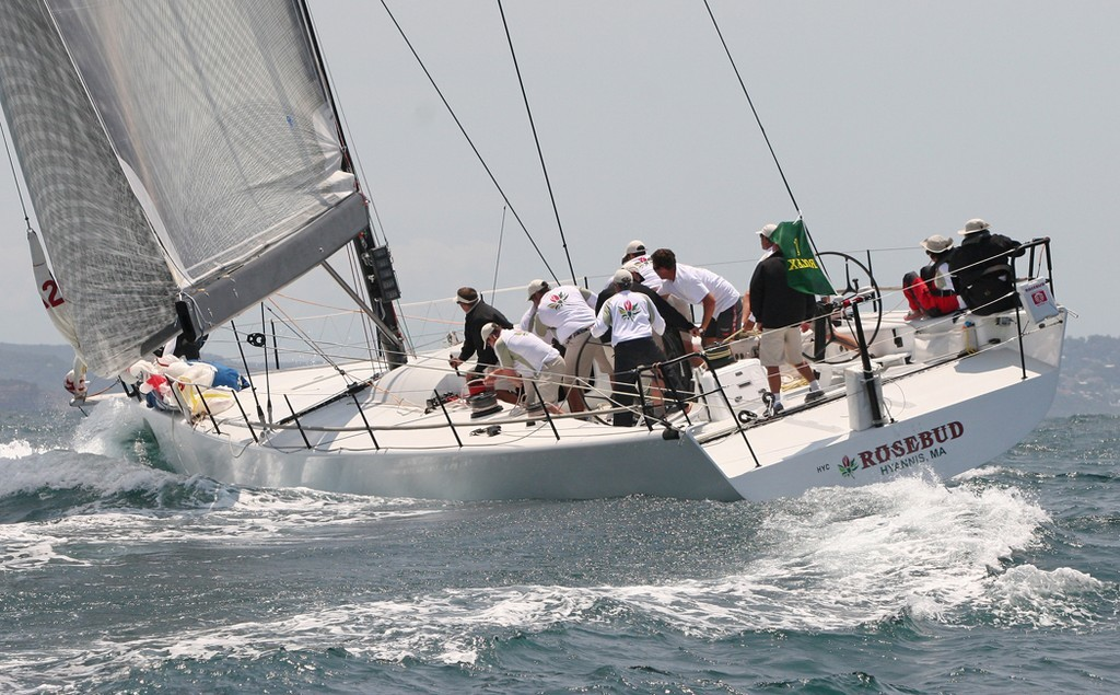 Rosebud swings around the top mark - Rolex Trophy Rating Series © Crosbie Lorimer http://www.crosbielorimer.com