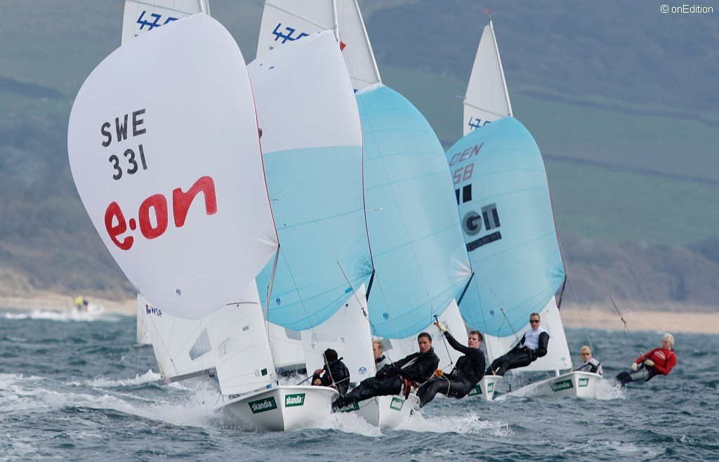 470 class in action at the Skandia Sail for Gold Regatta  © onEdition http://www.onEdition.com