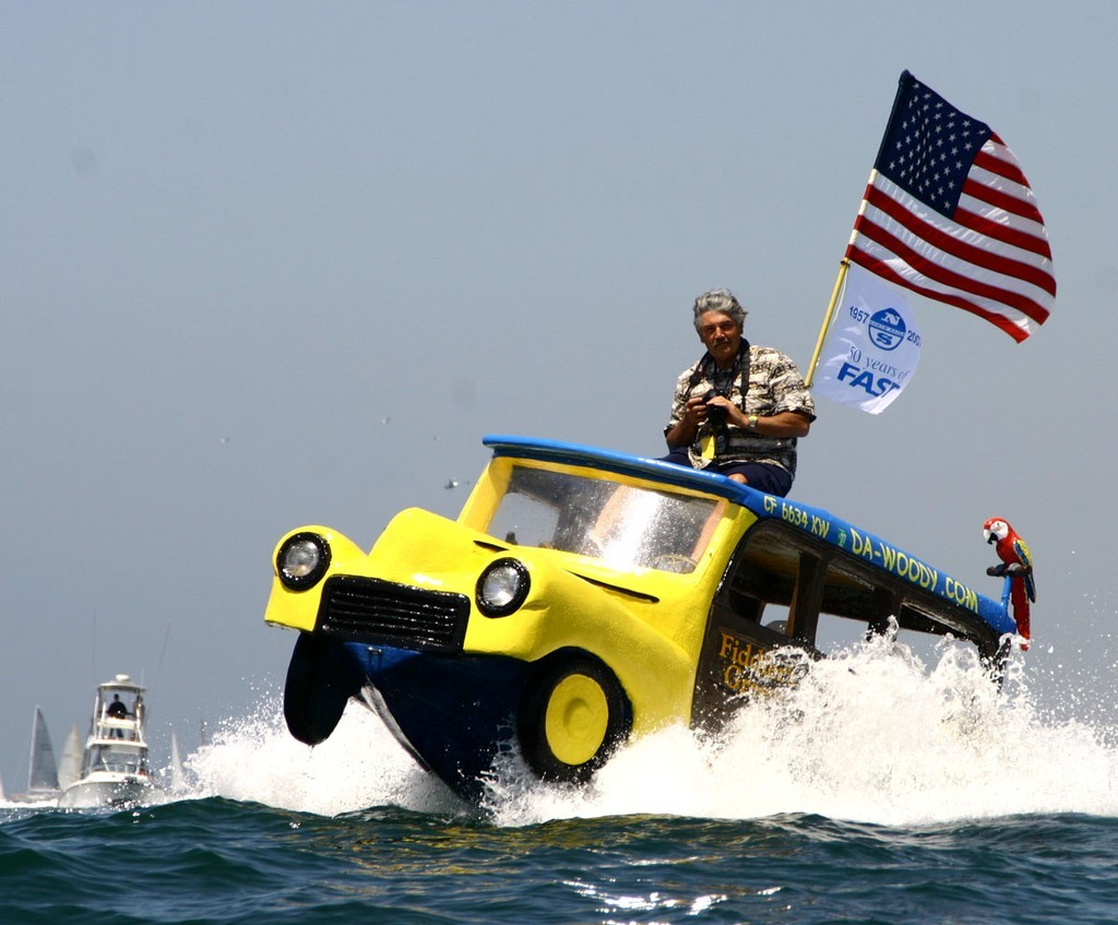 Dennis St. Onge's 'Da Woody' will be there again - Newport to Ensenada