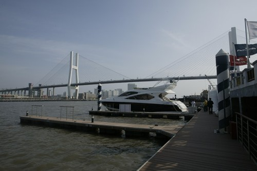 14th China International Boat Show. Shanghai Yacht Club on the Whang Poo River  © Guy Nowell http://www.guynowell.com