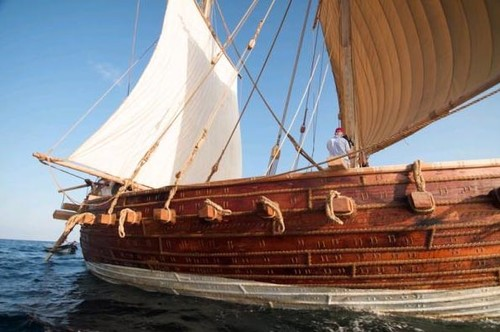 another ancient sailing ship to set forth