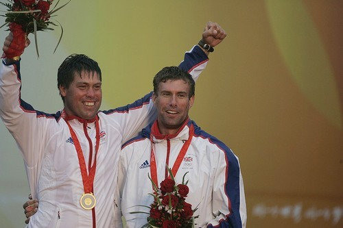 Andrew Simpson and Iain Percy, Star Gold Medallists  - 2008 Qingdao Olympic Regatta 2012 © Ingrid Abery http://www.ingridabery.com