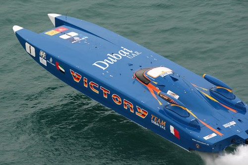 Offshore Powerboats - modified after Dubai tragedy