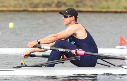 Rob Waddell - the 2000 Olympic Gold medalist has sailed on IACC yachts and now AC72's © Rob Bristow www.rowinginfo.info