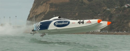 Armacup Offshore Powerboats on Auckland Harbour