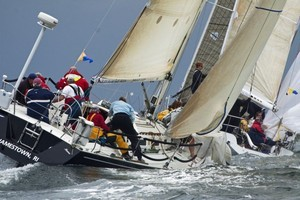 Mark rounding on day two - Block Island Race Week photo copyright  Rolex / Dan Nerney taken at  and featuring the  class