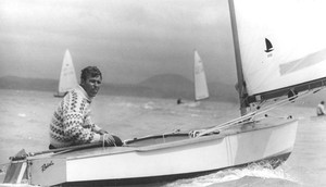Clive Roberts - 1974 photo copyright NZ OK Dinghy Assoc taken at  and featuring the  class