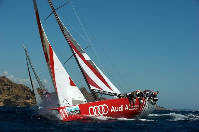 ALL4ONE in Audi MedCup, as Audi A1 Team powered by ALL4ONE © Franck Socha