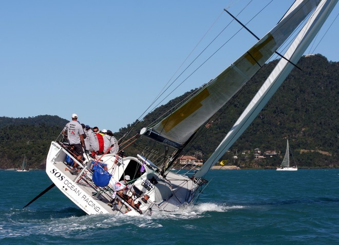 SOS Ocean Racing at Airlie Beach Race Week - Around Australia Record Attempt © Ian Thomson